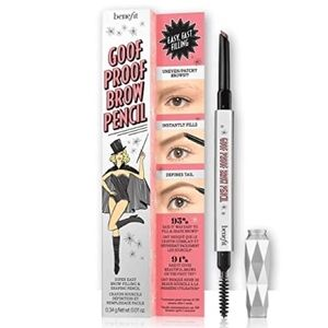 Benefit Goof Proof Brow Pencil 3.75 Warm Med Brown